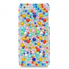 Protective Acrylic Diamond Plastic Back Case for Iphone 5 - Multi-Colored