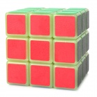 YJ YJ3002 Glow-in-the-Dark 3x3x3 Brain Teaser Matte Magic IQ Cube - Multi-Colored