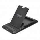 OImaster OI-TS-1001 Plastic + Silicone Adjustable Stand for Tablet PC - Black