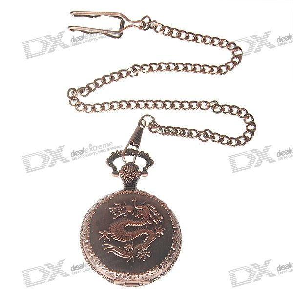 Classical Chinese Dragon Pocket Watch