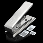 Nano SIM Card Cutter Machine for iPhone 5 - Silver + Black
