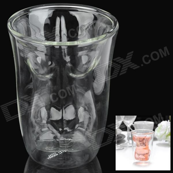 Sexy Lady Style Vodka Cup - Transparent White (150ml)