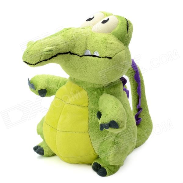 Little Naughty Crocodile Shaped Plush + PP Cotton Toy - Green от DX.com INT
