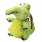 Little Naughty Crocodile Shaped Plush + PP Cotton Toy - Green