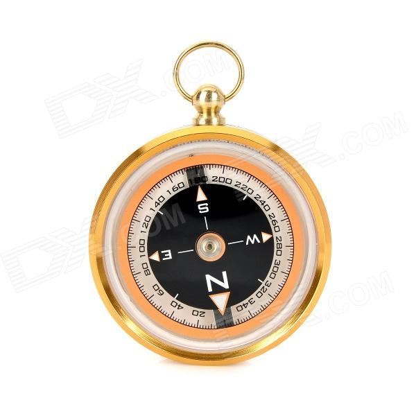 Outdoor J50 Stainless Steel Compass óleo w / Amortecimento - Golden