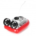Water 2-Channel Radio Remote Control Hovercraft - Red + Silver + Black