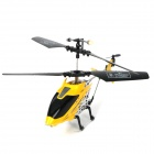 Rechargeable 2.5-CH IR Remote Controlled R/C Helicopter - Yellow + Black + Silver