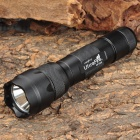 UltraFire WF-502B 800lm 3-Mode Memory White Light Flashlight - Black (1 x 18650)