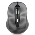 CZ-3D 2.4GHz 800 / 1200 / 1600DPI Wireless Rechargeable Optical Mouse - Deep Grey (2 x AAA)