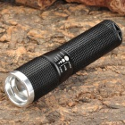 Wolf-Eyes 00256 Mini Cree XR-E Q5 210lm 3-Mode Memory White Zooming Flashlight - Black (1 x AA)