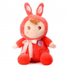Babytalk A0021 Super Cute Soft Rabbit Doll Toy - Red
