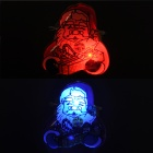 SD-122 Santa Claus Pattern Red Blue Light LED Badges - Colorful (25 PCS / 3 x AG3)