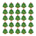 25 PCS Christmas Tree    LED Badges