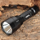UltraFire C8 (SU) Cree XR-E Q5 350lm 5-Mode White Light Flashlight - Black (1 x 18650)