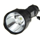 UltraFire C8 350lm 5-Mode Memory White Light Flashlight - Black (1 x 18650)