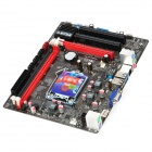 COLORFUL C.B75K Micro ATX Intel LGA 1155 Dual DDR3 PCI 3.0 Motherboard - Black