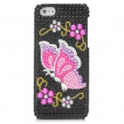 Fashion Butterfly Pattern Protective CrystalPlastic Back Case for Iphone 5