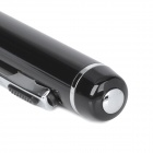 W01 Pen Style Voice Controlled Recorder w/ TF / Microphone - Black + Silver