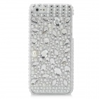 Protective Crystal Pearl + CrystalPlastic Back Case for iPhone 5 - White