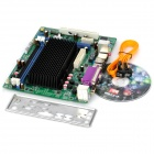 Colorful C.D45T D3 Intel D425 NM10 Dual DDR3 Channels PCI Motherboard - Black