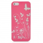 Protective Plastic Back Case for Iphone 5 - Deep Pink