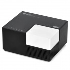 Water Cube Style Wireless-N Network USB 2.0 Server + USB 2.0 Hub - Black + White