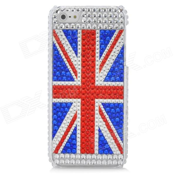 UK National Flag Pattern Protective CrystalPlastic Case for Iphone 5 ostin футболка с бантом