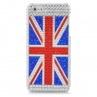 UK National Flag Pattern Protective CrystalPlastic Case for Iphone 5