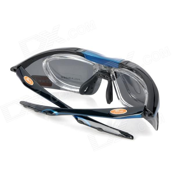 polarized goggles  Panlees SP006 Cycling Polarized Goggles Glasses w/ Interchangeable ...