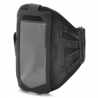 Trendy Sports Mesh Style Armband for iPhone 5 - Black