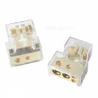 Leige LGB-50 Car Batterieklemme - Golden (2 PCS)