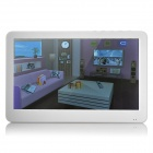 "7"" TFT Touch Screen 5.0MP Camera MP5 Player w/ TF / FM - White (16GB)"