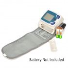 "420003 1.7"" LCD Armband Blood Pressure / Pulse Meter - White + Grey (2 x AAA)"
