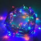 6W 100-LED 8-Mode Multicolored Light Christmas Decorative String Light (110V / 2-Flat-Pin Plug)