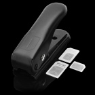 Nano SIM Card Cutter with 3 Adapters for iPhone 5 - Black