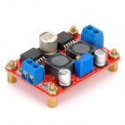 3,5 ~ 28VDC: n pistoliitin 1.25 ~ 26V DC-DC Step-Up tasa LM2596S Solar Power Supply muunnin moduuli - punainen