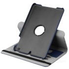 Protective PU + PC Flip Open Case Cover for Ipad MINI - Blue