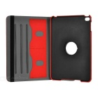 Protective PU + PC Flip Open Case Cover for Ipad MINI - Red