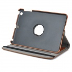 Protective PU + PC Flip Open Case Cover for Ipad MINI - Brown