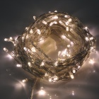 6W 100-LED 8-Mode Warm White Light String Light -White (110V/US Plug)