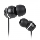 ELMCOEI EM-303 3.5mm Plug In-Ear Earphone w/ Retro Key Style Cable Winder - Black (100cm)