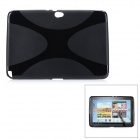 Protective TPU Soft Back Case for Samsung Galaxy Note 10.1 N8000 - Black