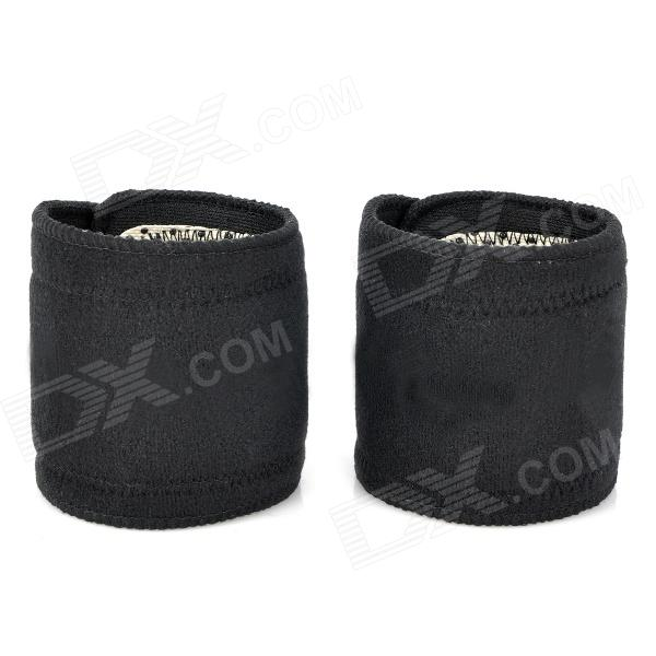 Self-Heating Protective Healthy Wrist Bands - Black + White (2 PCS) media as public forum
