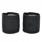 Self-Heating Protective Healthy Wrist Bands - Black + White (2 PCS)
