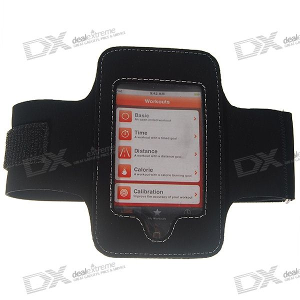 Sporty Arm Band for Ipod Touch 2 (Black)