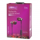 JBM MJ900 In-Ear Earphone w / microfone para iPhone / celular - Iron Grey (3,5 mm)