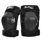 Scoyco K04 Motorcycle Sports Knee Pad Guard - Black (Pair)