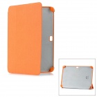 Protective PC + Fiber Case for Samsung Galaxy Note 10.1 N8000 - Orange