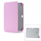 Protective PC + Fiber Case for Samsung Galaxy Note 10.1 N8000 - Pink