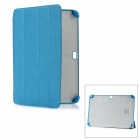 Protective PC + Fiber Material Case for Samsung Galaxy Note 10.1 N8000 - Blue
